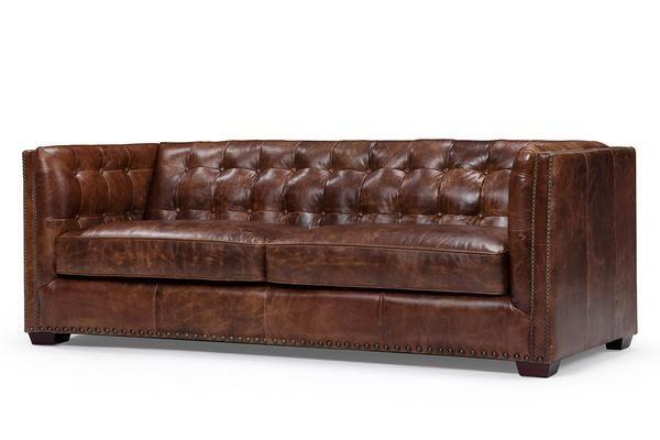 The Brighton English Leather Sofa Leather Sofa Sofa English Sofa