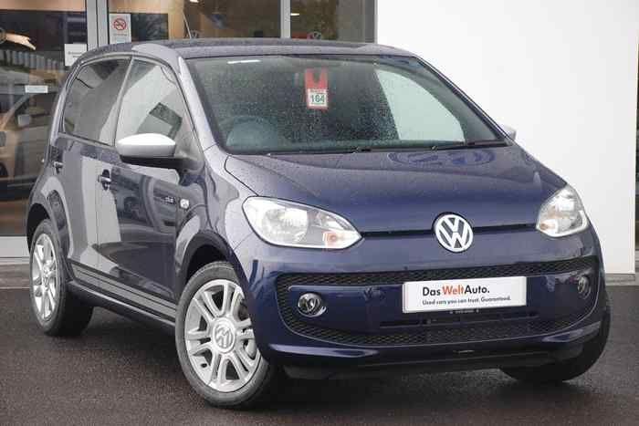 Blueberry Metallic Volkswagen Up Hatchback 5 Dr Volkswagen Up