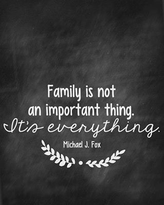 Quotes About The Importance Of Family Gorgeous Pinamanda Fry On Quotes  Pinterest  Inspirational Thoughts