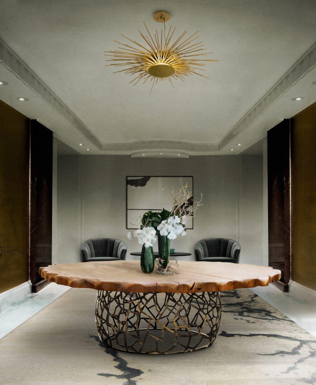 Zeitgenössische Küche Tische Modernes esszimmer