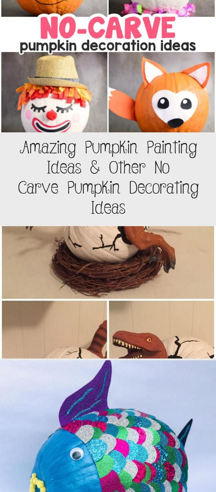 Amazing Pumpkin Painting Ideas & Other No Carve Pumpkin Decorating Ideas #Housepaintingideas #paintingideasForFurniture #paintingideasVsco #paintingideasBeach #paintingideasNature #pumpkinpaintingideas