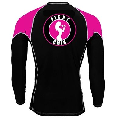 Fight Chix Rash Guard--Want!