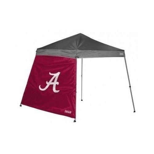 crimson tide tent 10 x 10 slant leg canopy wall alabama college tailgating sport