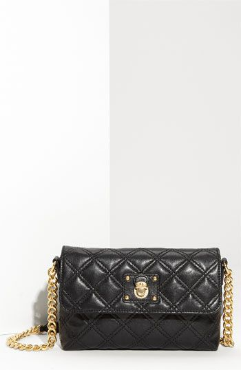 e41b653f222d MARC JACOBS 'Quilting - Single' Lambskin Leather Shoulder Bag available at  Nordstrom