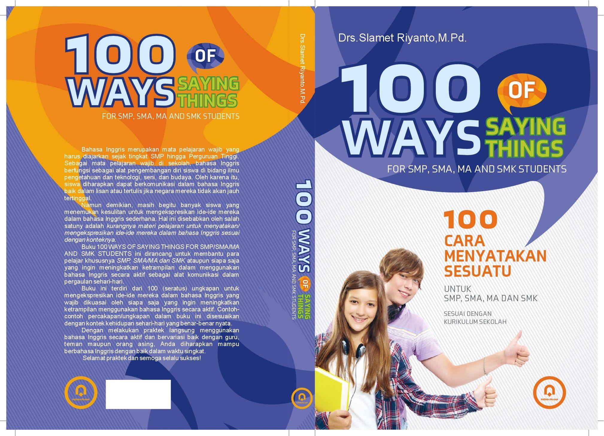 Cover 100 Ways Of Saying Things 15 5 X 23cm Pustaka Pelajar
