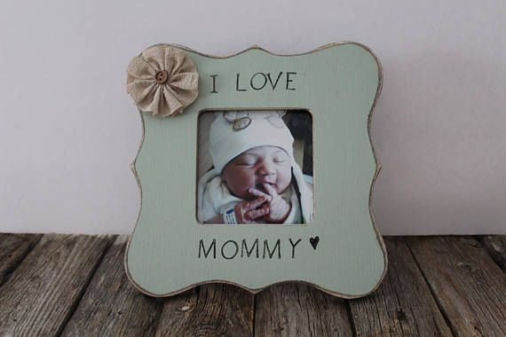 Mommy Picture Frame I love Mommy Mom Picture Frame   My Rustic Place ...