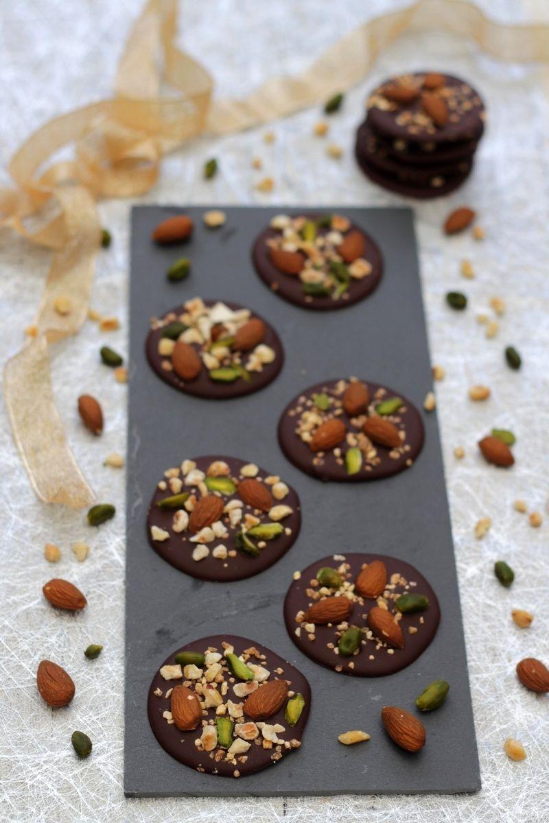 Mendiants au chocolat - Recette par Amandine Cooking