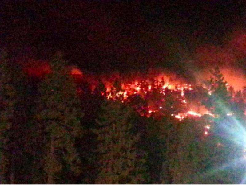 Girl Scouts Flee Wildfire in San Gabriel Mountains   La Cañada Flintridge, CA Patch