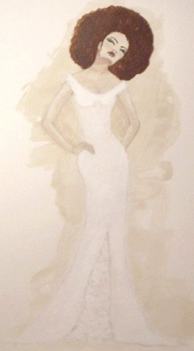 Bride With Red Afro by Cheryl Lynn