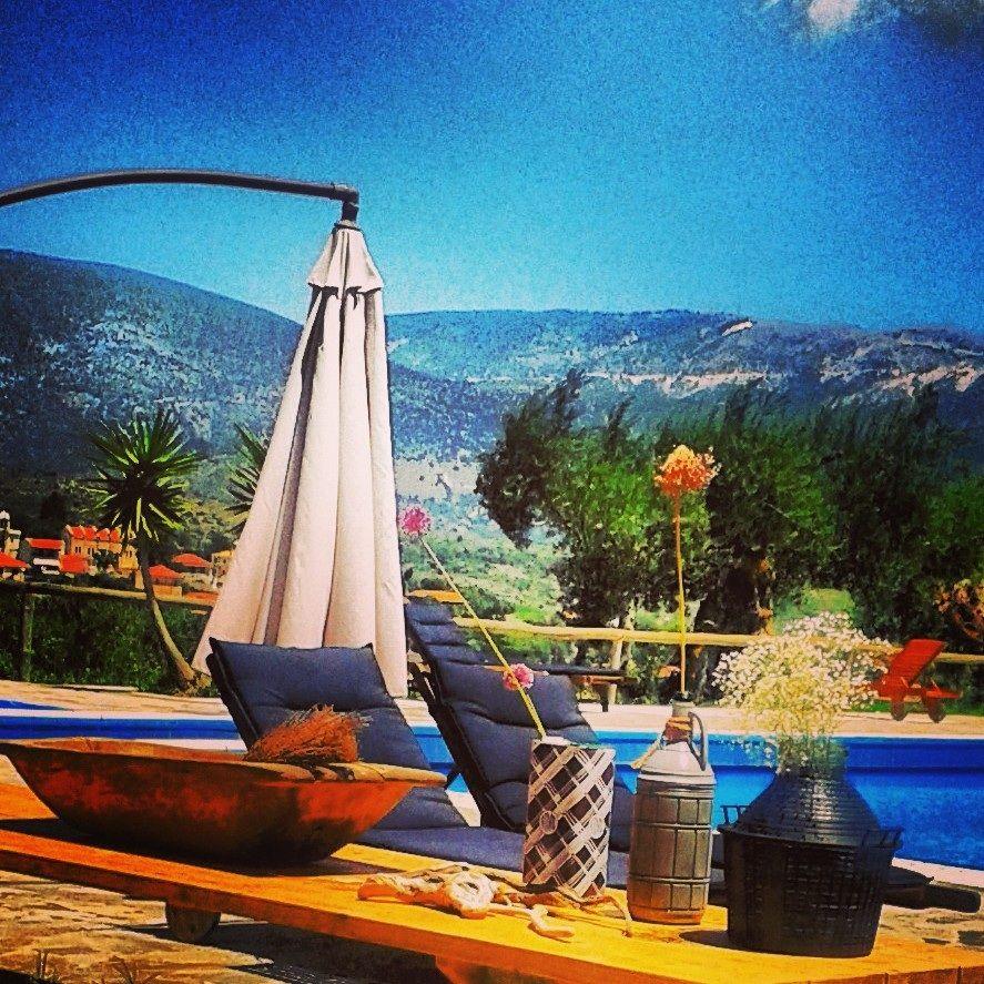 www.mylittleplaceonthehill.com.  Hip hotel, Kefalonia island, Greece