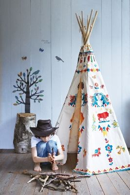 I would love to stencil the teepee I ordered. It is plain, unbleached muslin and has endless possibilities.