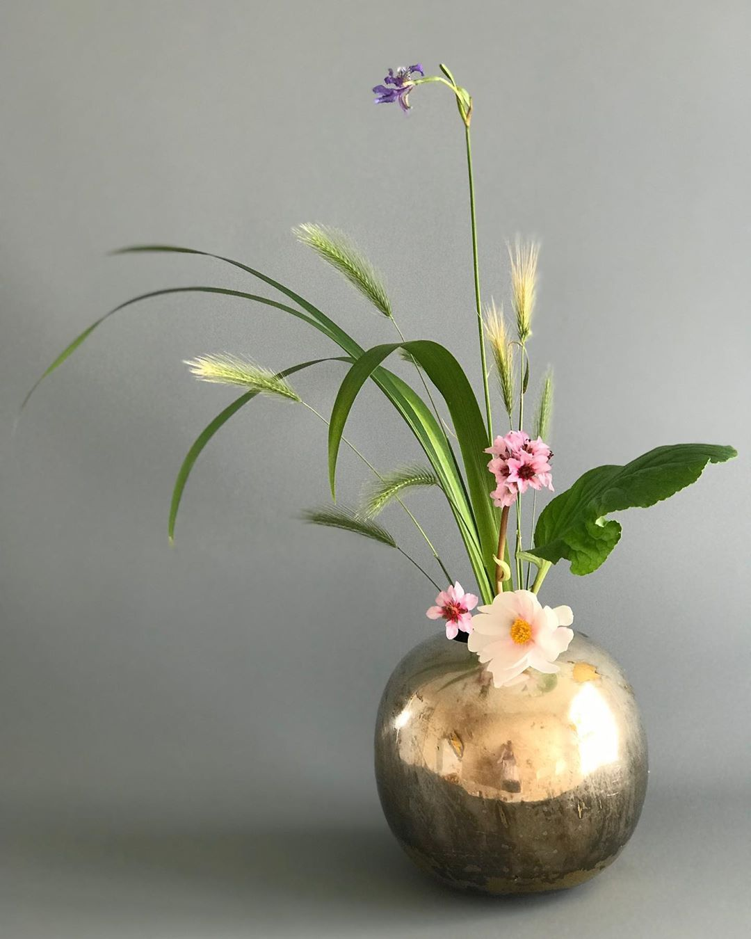 Maivan Flowers On Instagram Ikenobo Ikebana Jiyuka Freestyle