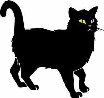 Cats Vectors Photos And Psd Files Free Download Cat Vector Cat Clipart Black Cat Pictures