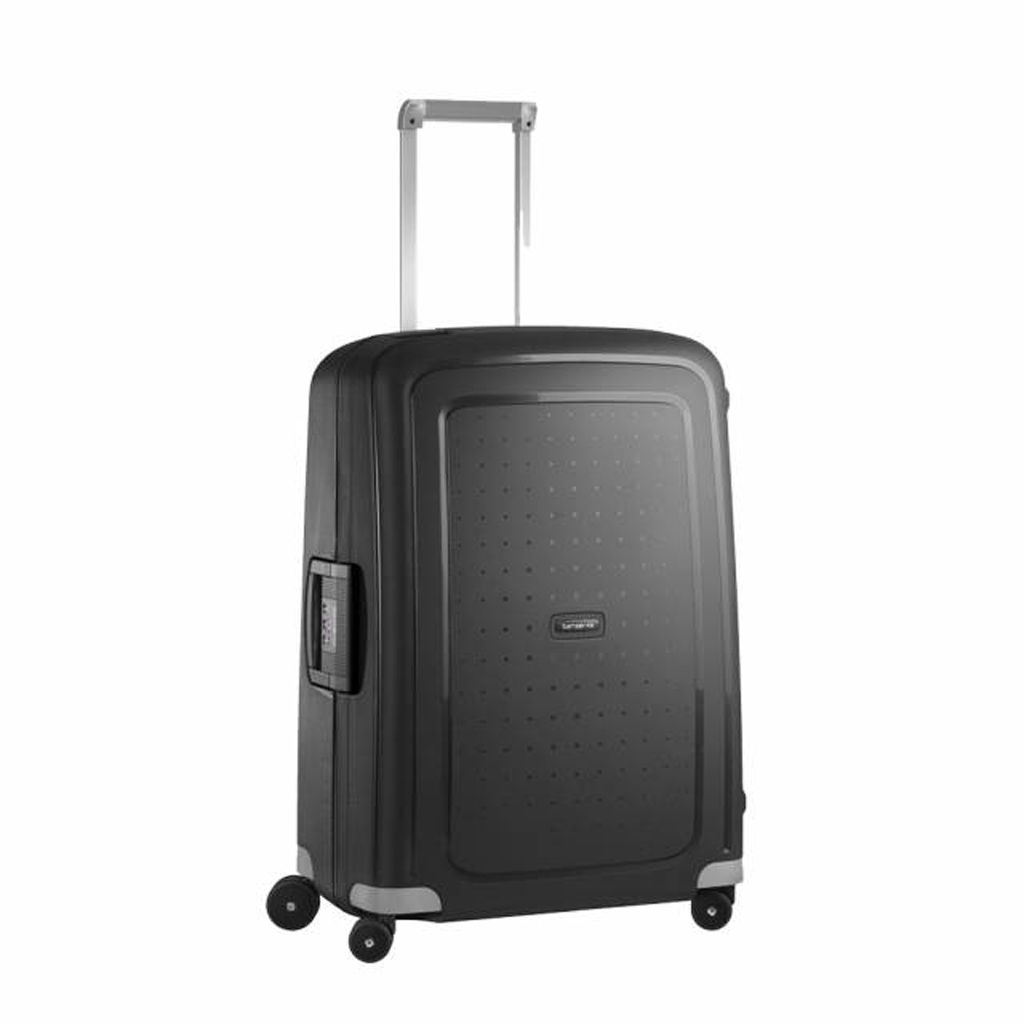 Samsonite Valise taille cabine 4 roues rigide S cure - 55cm Rouge byE24MQ39p