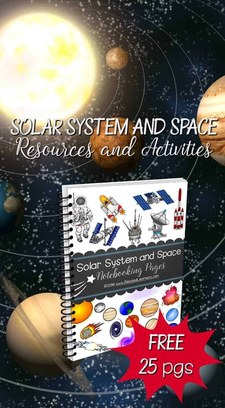 Photo of Solar System Space Resources activities Astronomy Study
