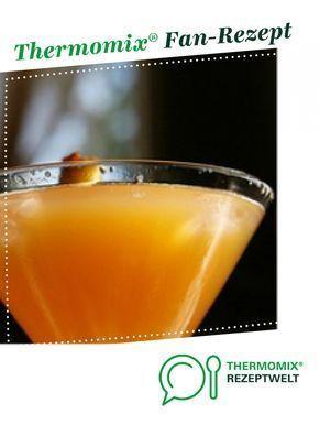 Sekt-Cocktail mit Pfirsich