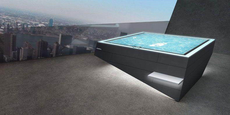 Chill der erste wirklich sch ne whirlpool der in serie for Pool design gmbh
