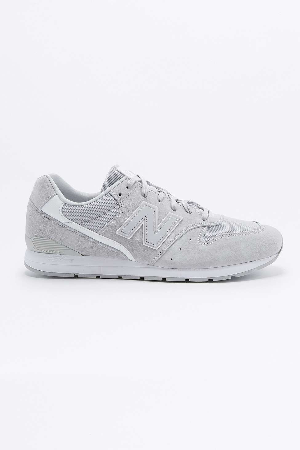 5f87f28b4662 New Balance 996 Grey Suede Trainers