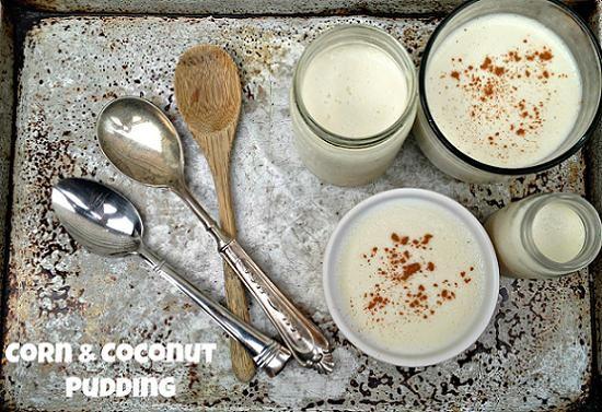 Traditional Dominican Corn and Coconut Pudding Recipe