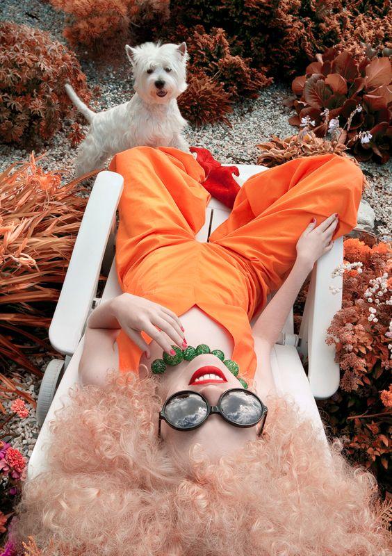 Belle Rosemonde PHOTOGRAPHER: ANDREY YAKOVLEV ART-DIRECTOR: LILI ALEEVA MODEL: ANGELINA ELHOVA MAKE-UP: ZHANNA BILALOVA HAIR STYLE: OXANA ZAVARZINA