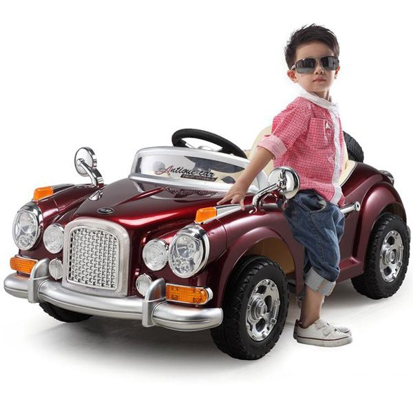 Luxury Electric Car Toy 12v Battery Operated Remote Control Kids In 2020 Toy Car Kids Ride On Barbie Car