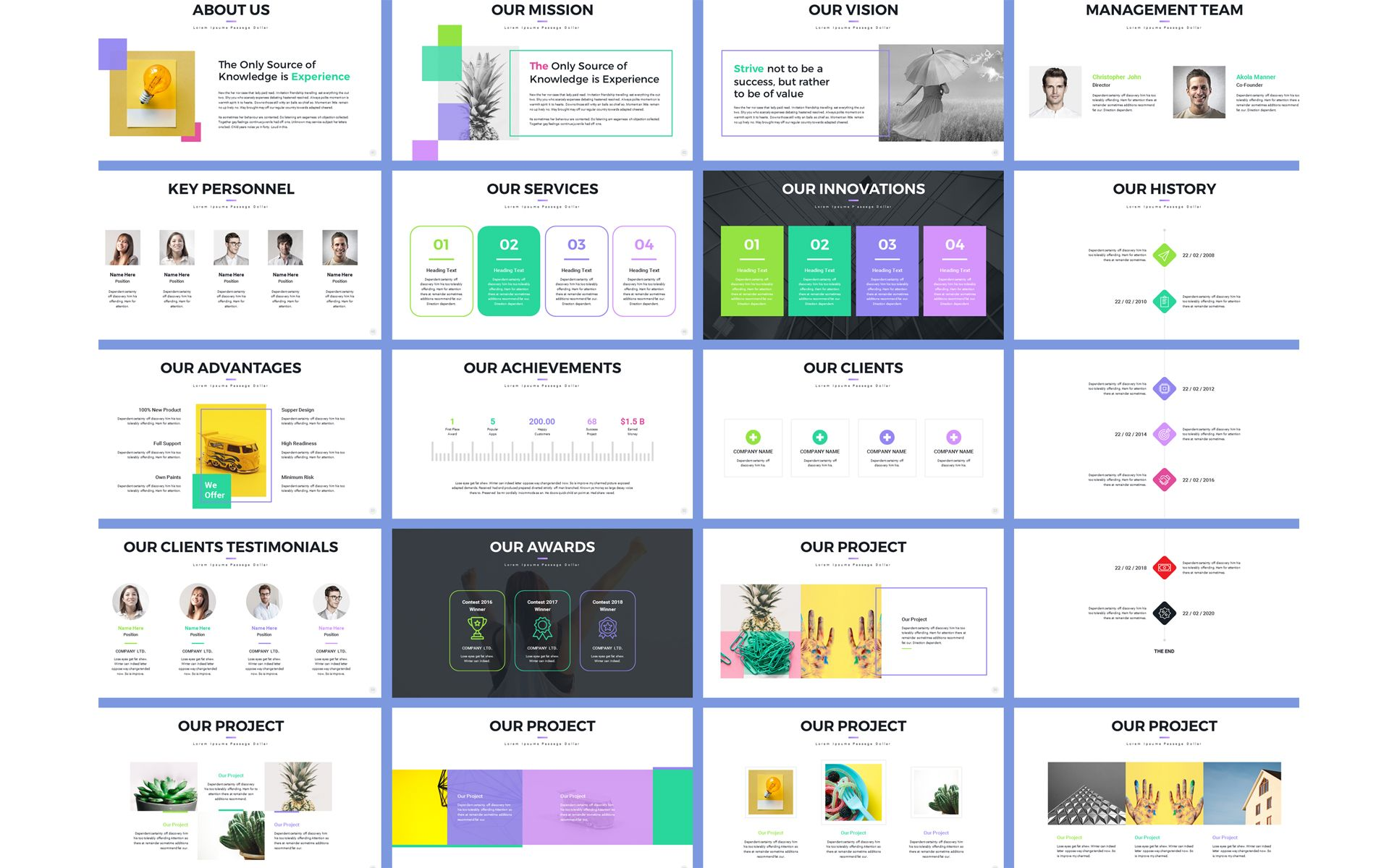 Pro Project Proposal Powerpoint Template 70560 Project