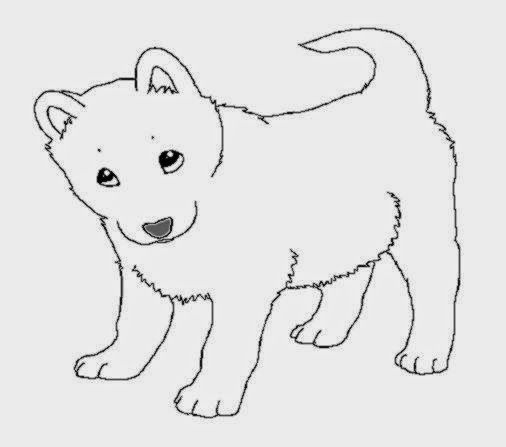 Husky Coloring Pages Puppy Coloring Pages Dog Coloring Page Baby Huskies