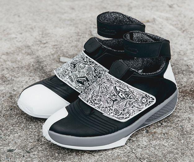 Air Jordan XX Black/Cool Grey/White