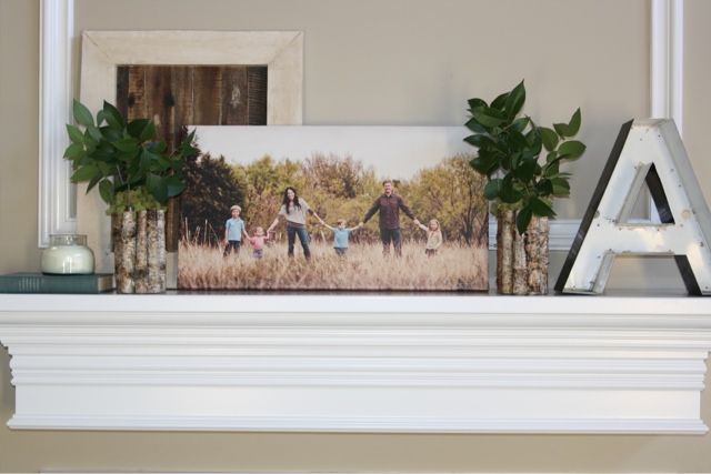 At home a blog by joanna gaines magnolia hgtv and mantle for Magnolia farms design ideas