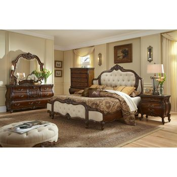 Chateau Sainte-Louis 6-piece Queen Bedroom Set | Master bedroom ...
