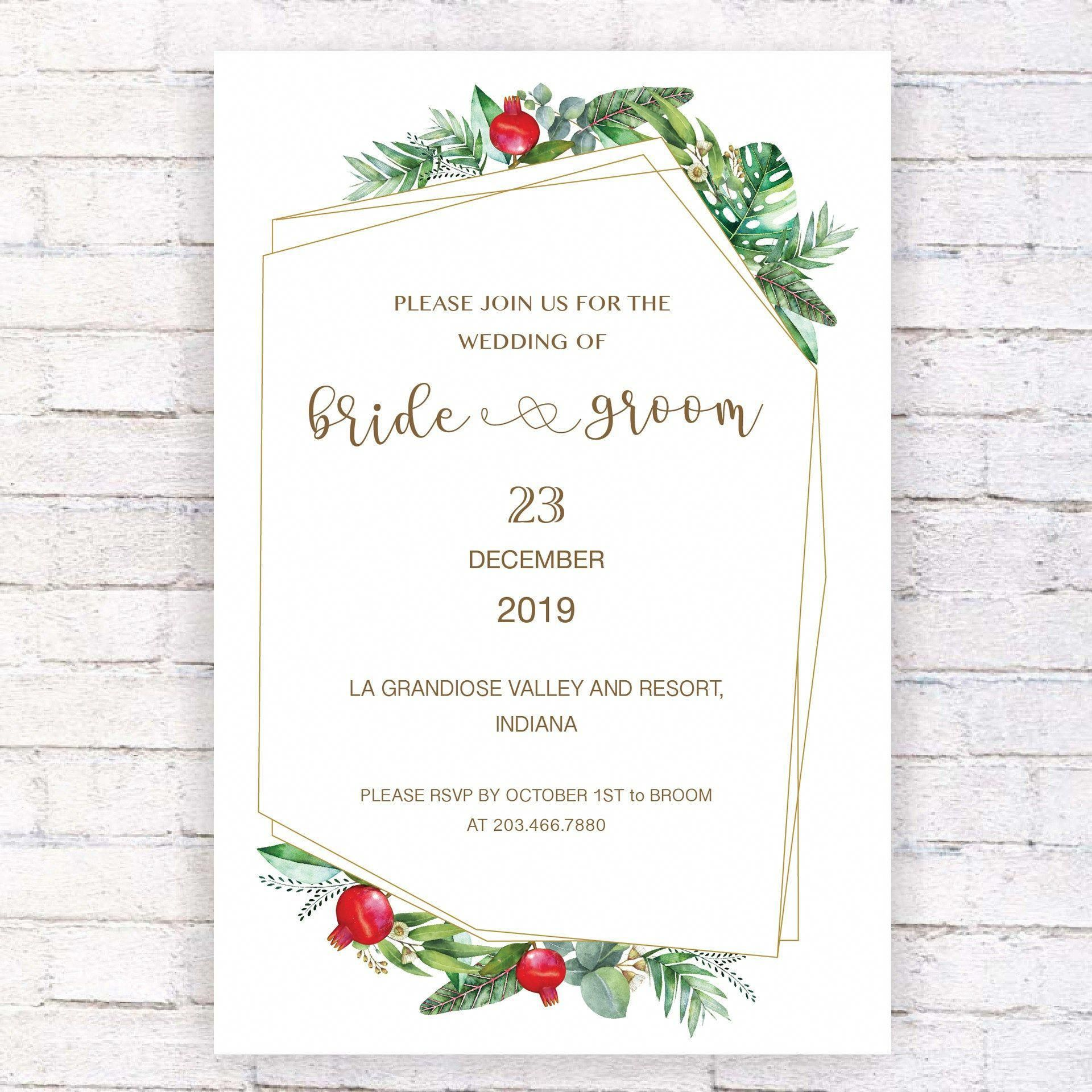 There Are Thousands Of Ready Made Wedding Invitations In 2020 Wedding Invitations Printable Templates Instant Download Wedding Invitations Wedding Invitation Templates