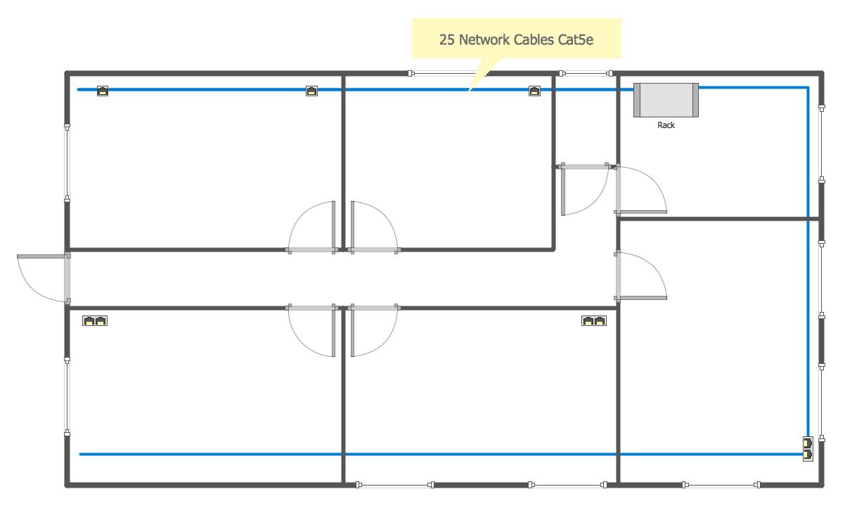 Network Communication Plan Floor Plan Design Floor Plan Layout Floor Plans