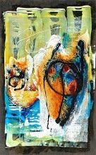 Acrylic painting, mixed media, ~2003—2005