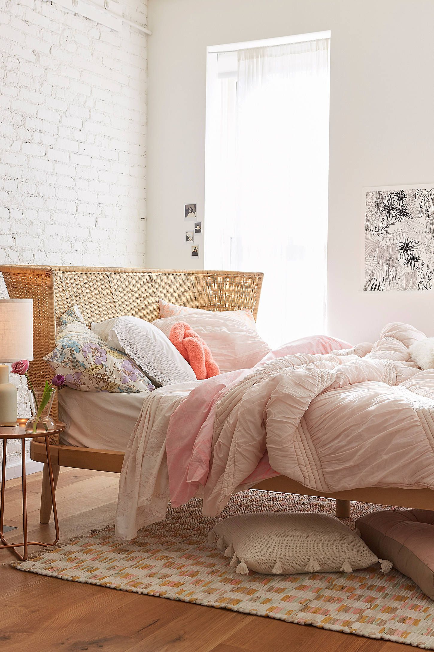 Shop Jens Woven Windsor Platform Bed at