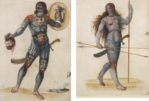 Resultado de imagen de imagen pictos celtas guerreros