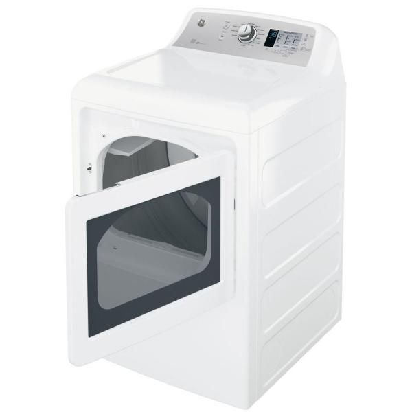 Ge Gtd65ebsjws 27 Electric Dryer With 7 4 Cu Ft Capacity 12 Dry Cycles 4 Temperature Settings Energy Star Certif Electric Dryers Gas Dryer Laundry Decor