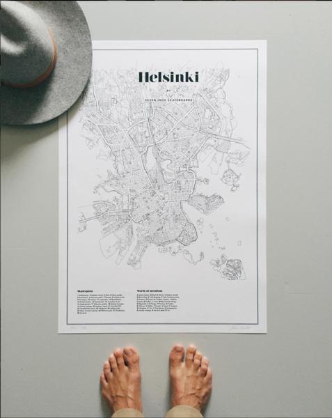 Helsinki -juliste