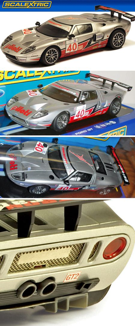 Scalextric C3088 Ford Gt Slot Cars Ford
