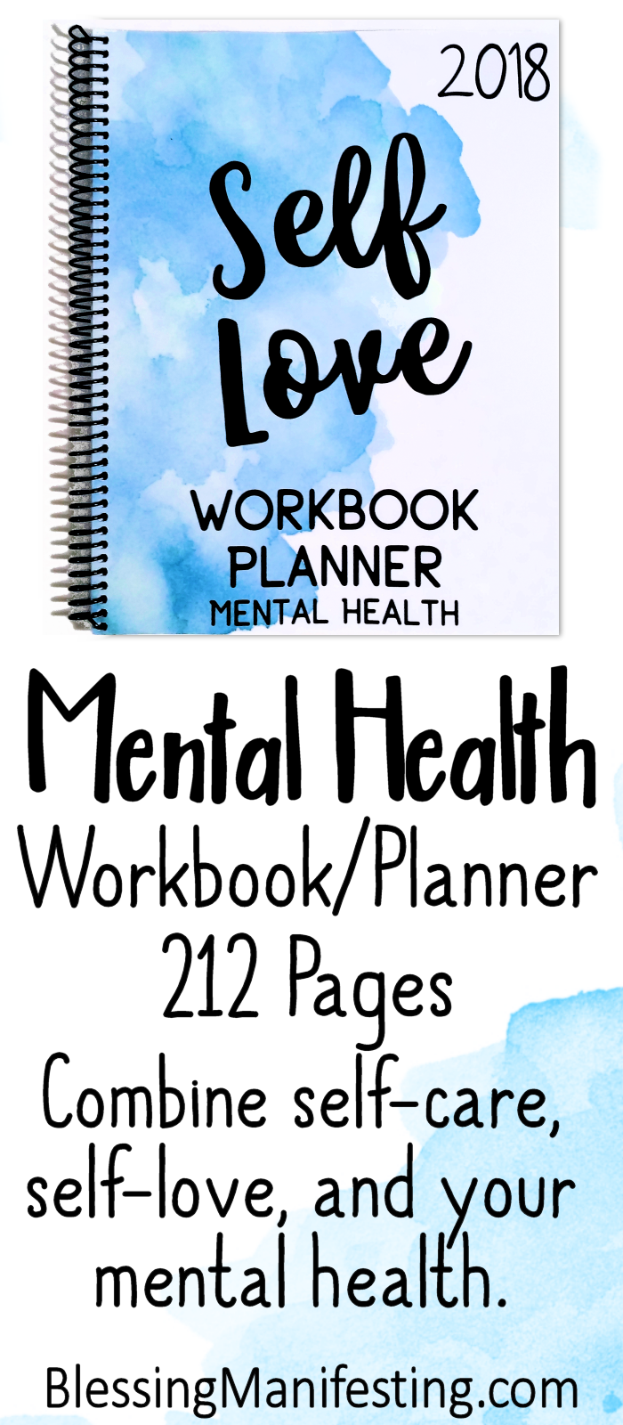 2018 Self-Love Workbook and Planner | Planners, Mental health and ...