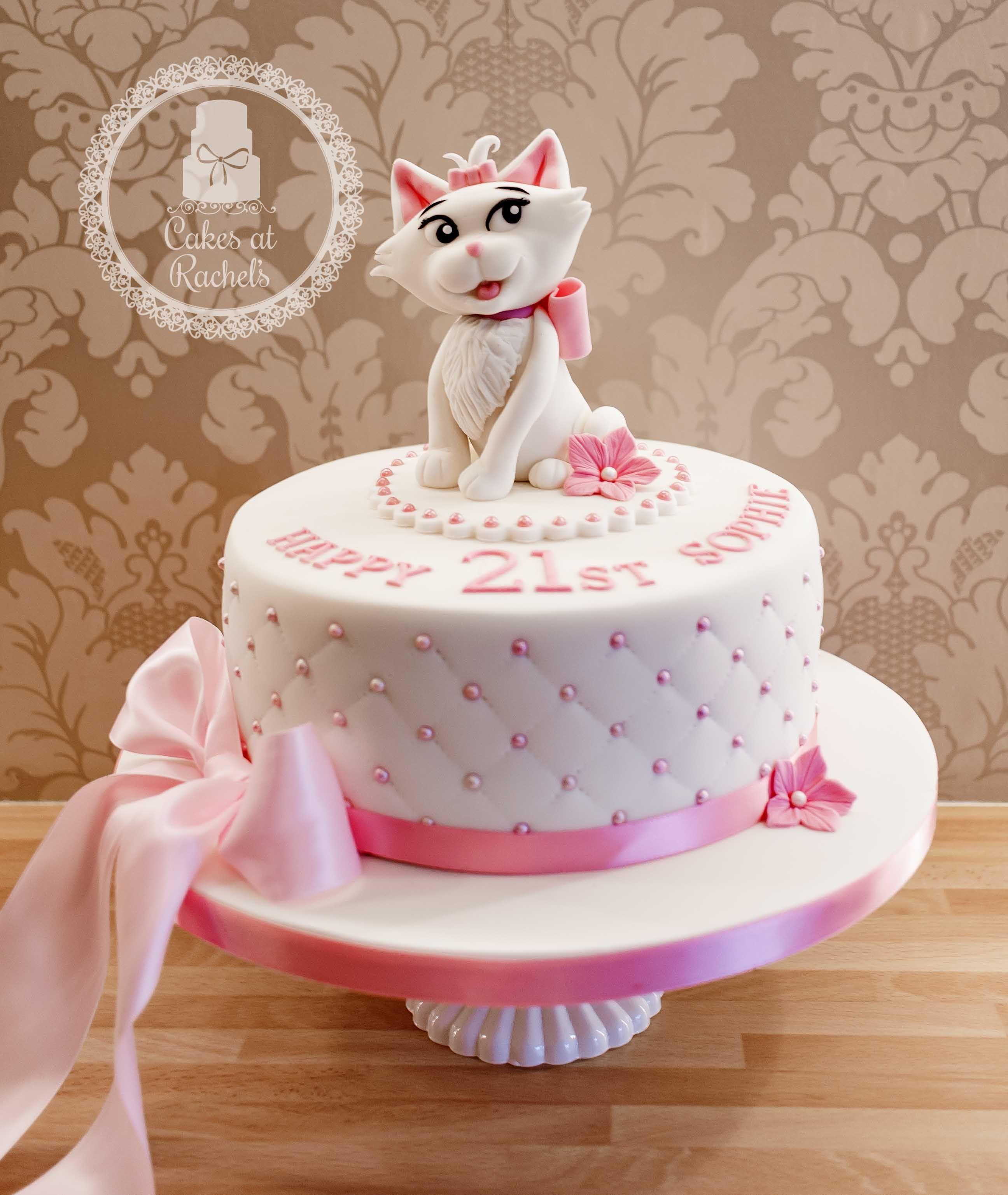 Aristocats themed cake 21st birthday blackpool based