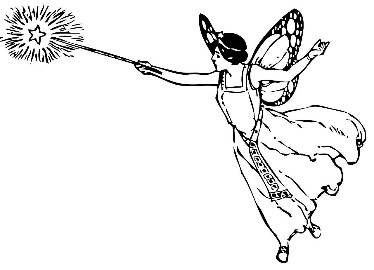 Free Image On Pixabay Magic Wand Female Flying Fairy
