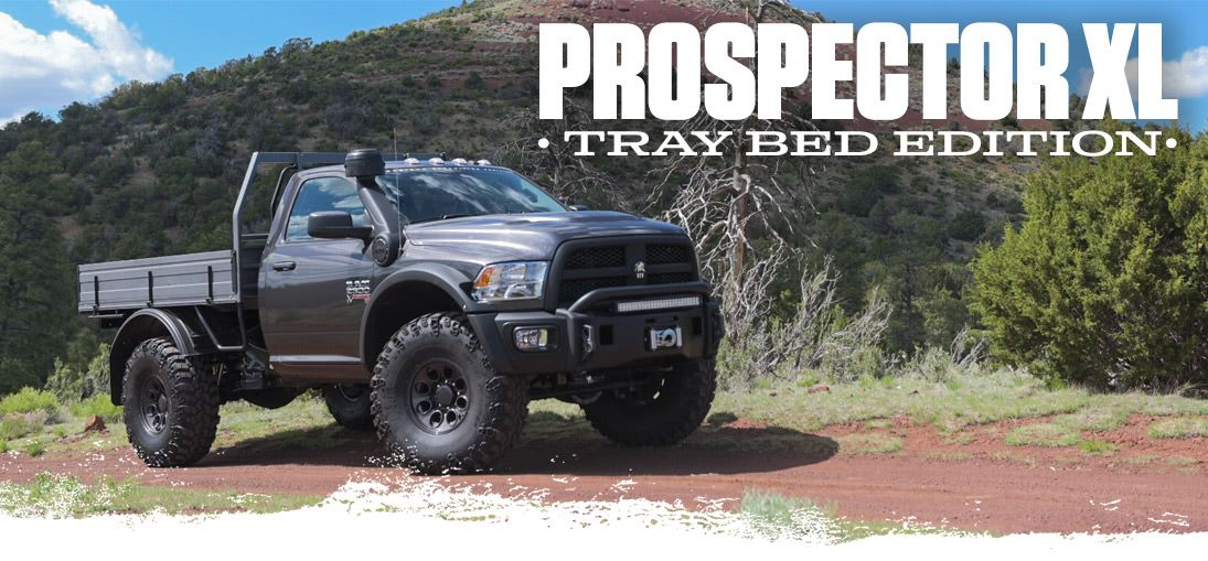 american expedition vehicles prospector xl tray bed edition sweet truck pinterest vehicle. Black Bedroom Furniture Sets. Home Design Ideas