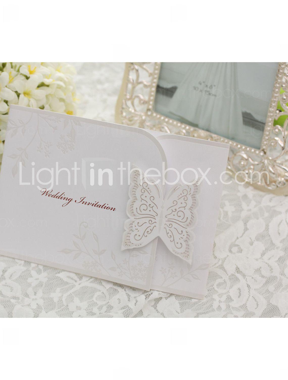 Magnificent Wedding Invitations Butterfly Theme Model - Wedding Idea ...