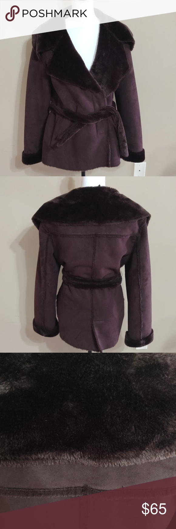 Wilson Leather Suede And Faux Fur Jacket in 2020 Fashion