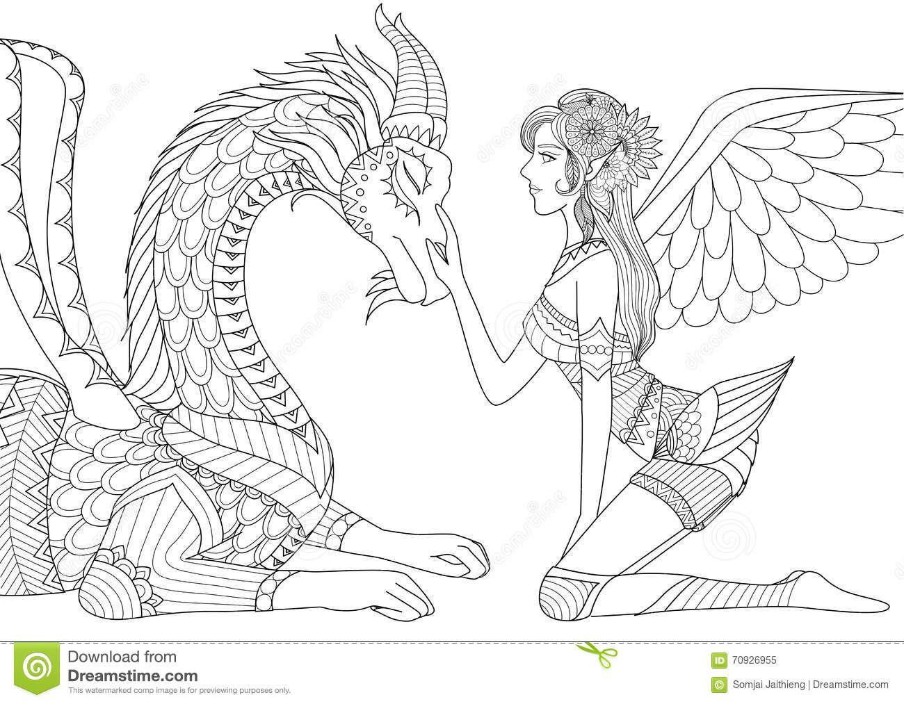 Pin De Barbara En Coloring Dino Dragon Dragones Para Colorear Libro De Colores Produccion Artistica