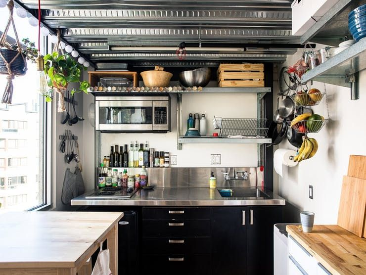 7 Ideas For Tackling Small Kitchen Storage Shortages in Style | Apartment Therapy & Ideas for Tackling Small Kitchen Storage Shortages in Style ...
