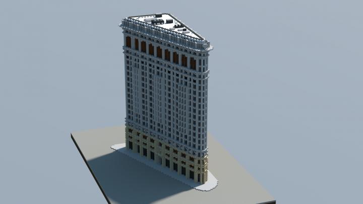 Flatiron Building New York Minecraft Project Minecraft