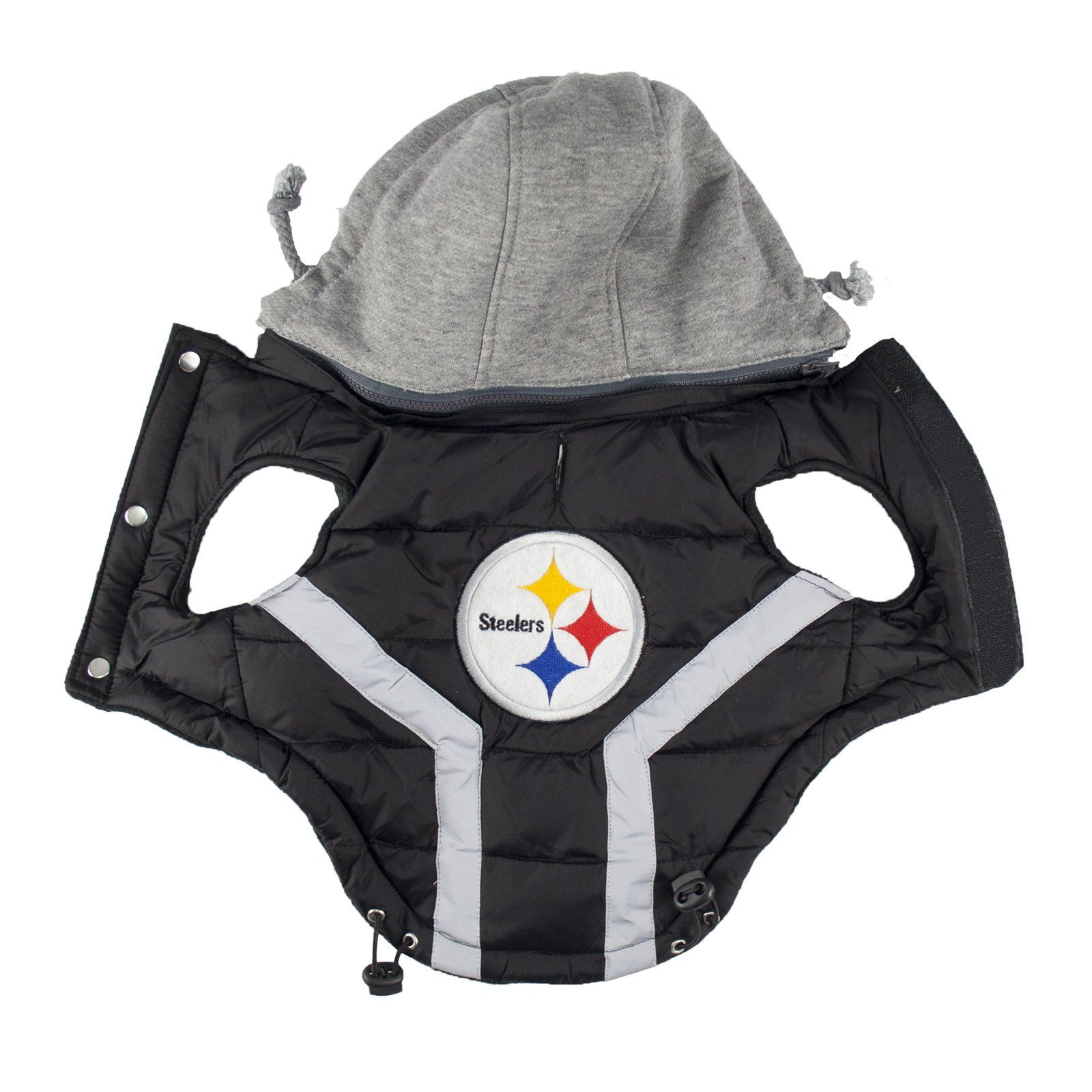 5dca8eac91f NFL Pittsburgh Steelers Dog Puffer Vest Small >>> Learn more at the picture  link. (This is an affiliate link). #dogcostumes