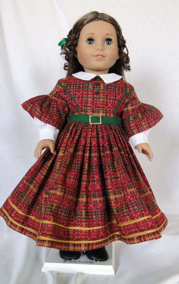 CW Plaid w/smocked sleeves by dancingwithneedles on Etsy, $70.00