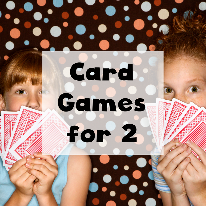 fun card games for two people including card games for